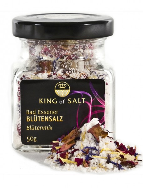 King of Salt Blütensalz Blütenmix, 50 g