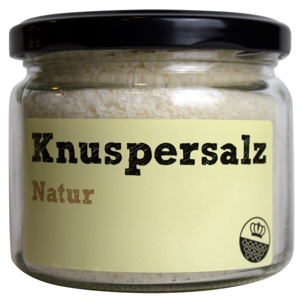 King of Salt Knuspersalz Natur, 200 g
