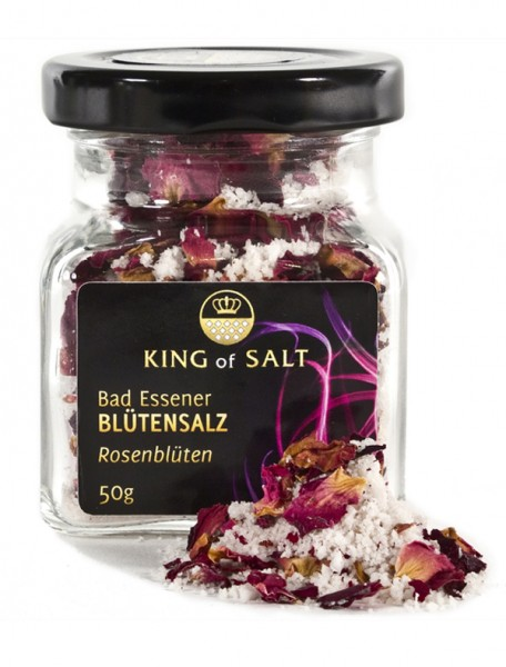 King of Salt Blütensalz Rose, 50 g