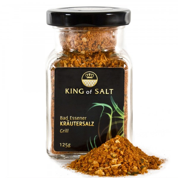 King of Salt Kräutersalz Grill, 125 g