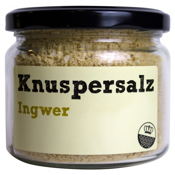 King of Salt Knuspersalz Ingwer, 200 g