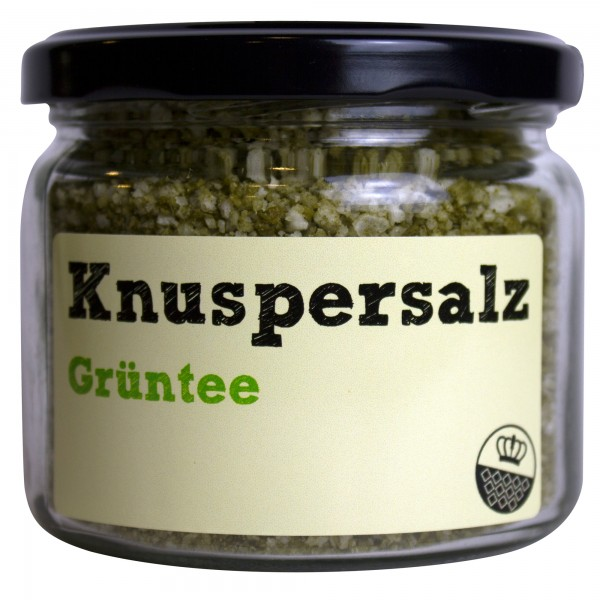 King of Salt Knuspersalz Grüntee, 200 g