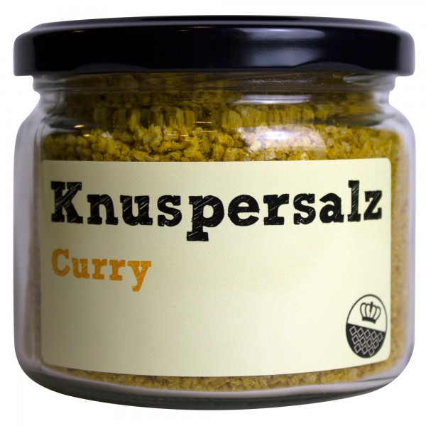King of Salt Knuspersalz Curry, 200 g