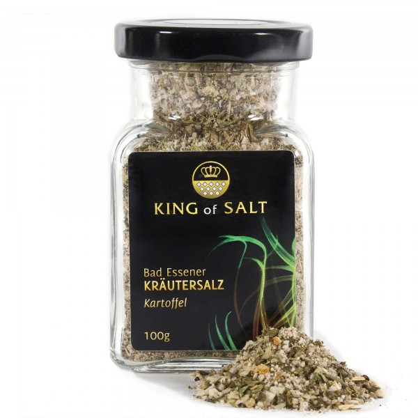 King of Salt Kräutersalz Kartoffel, 100 g
