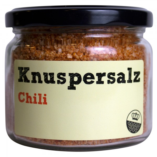 King of Salt Knuspersalz Chili, 200 g